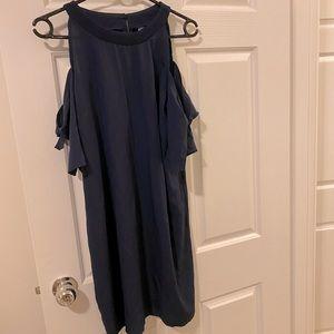 True Destiny Light Free Cutout Tie Hand Dress